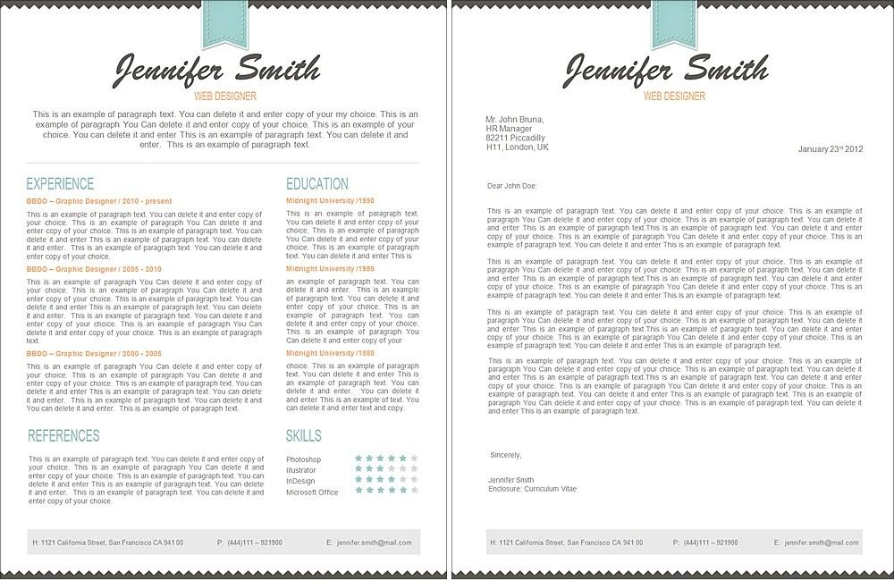 Free Resume Template For Pages