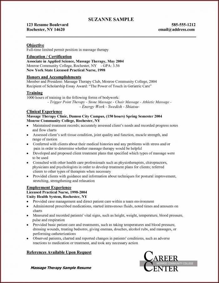 Free Resume Templates For New Graduate Nurses
