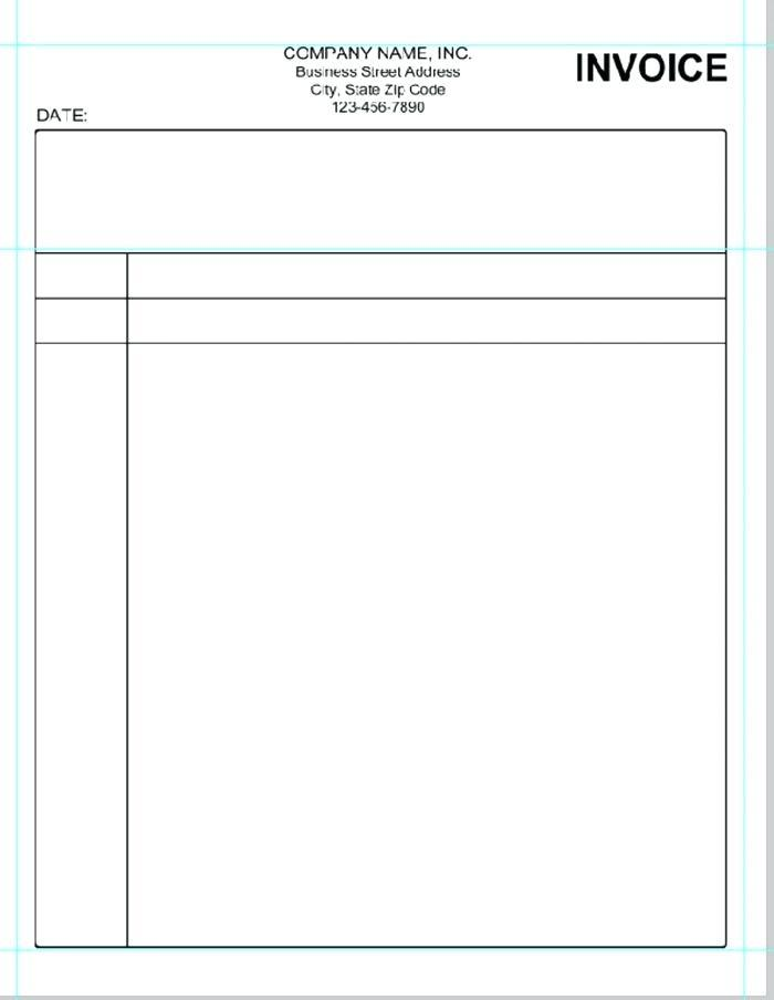 Free Simple Invoice Template Download