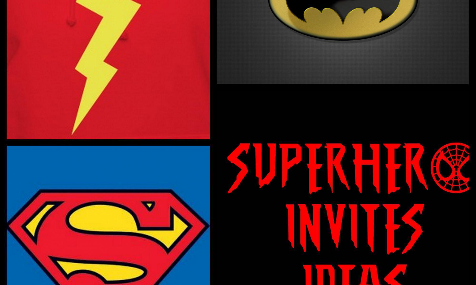 Free Superhero Invitation Template Download