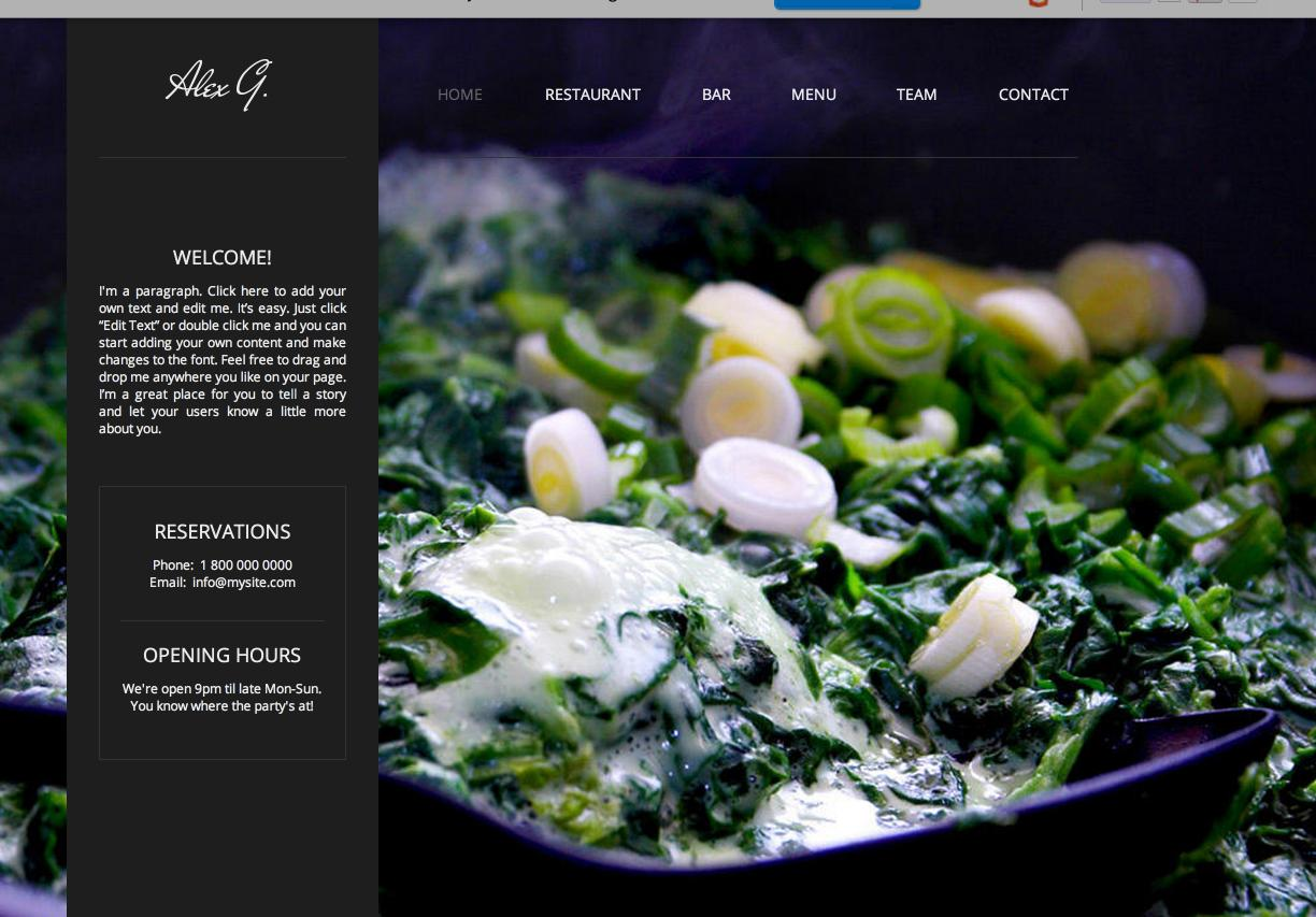 Free Website Templates Like Wix