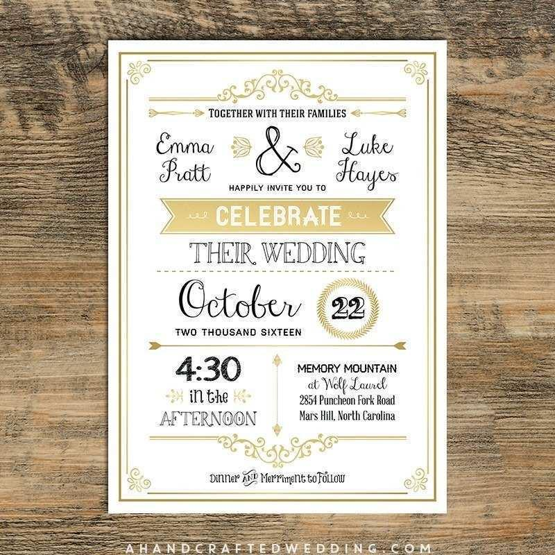 Free Wedding Announcement Templates Download