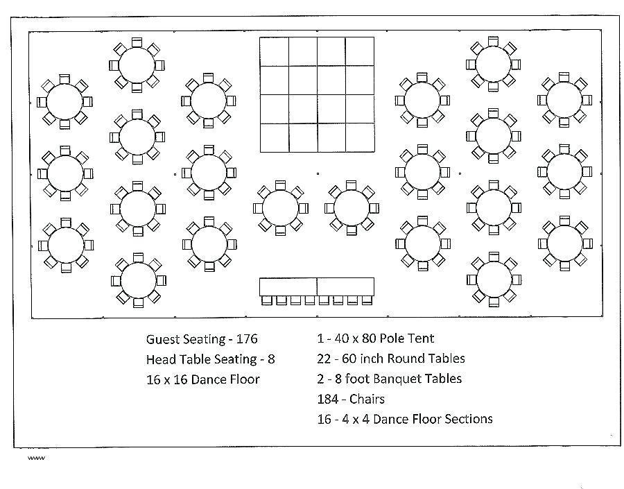 Free Wedding Reception Seating Plan Template