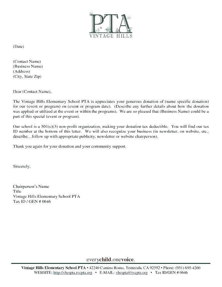 Fundraising Letter Template Uk