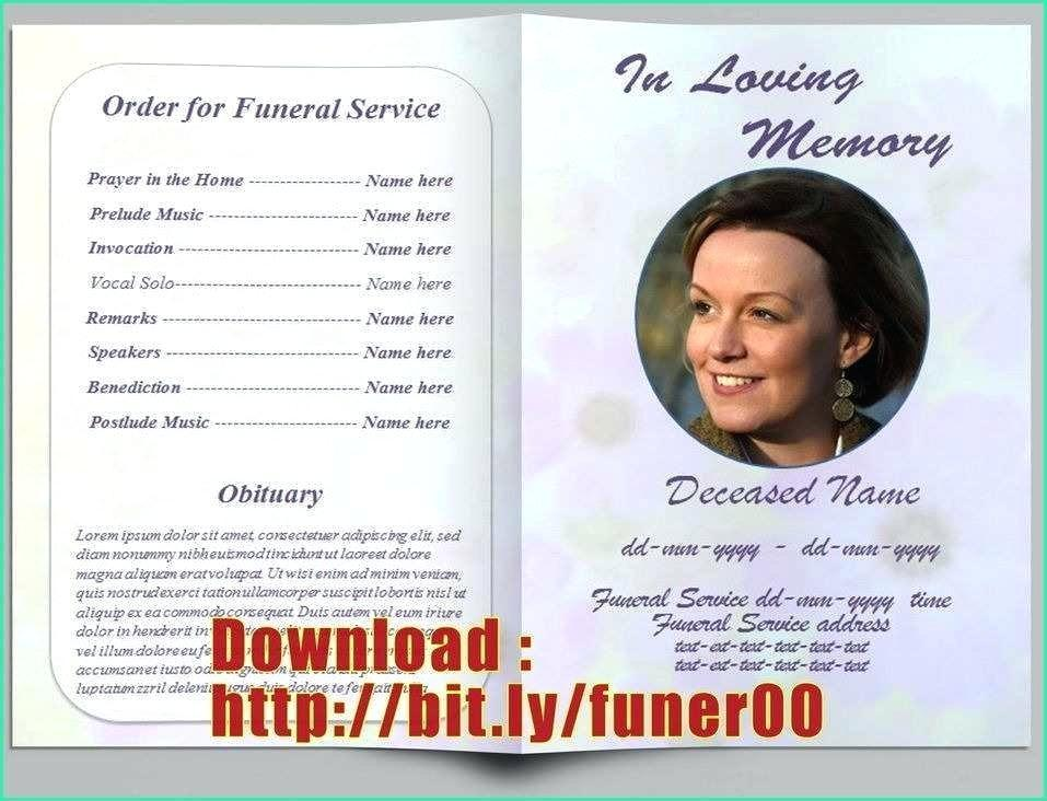 Funeral Obituary Format