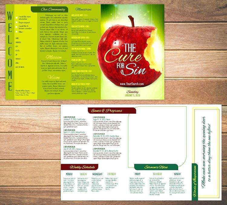 Funeral Program Templates For Pages