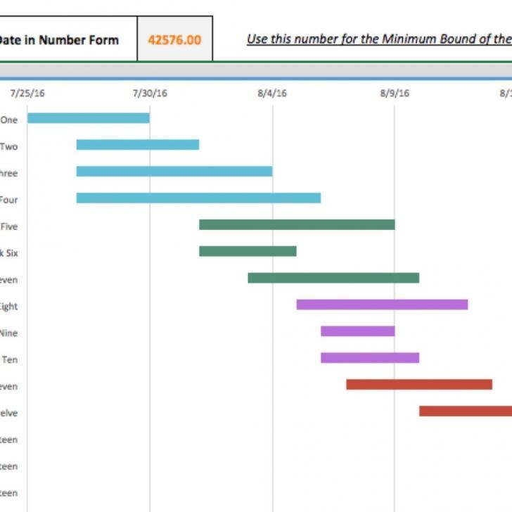 Gantt Chart Template For Excel Crack