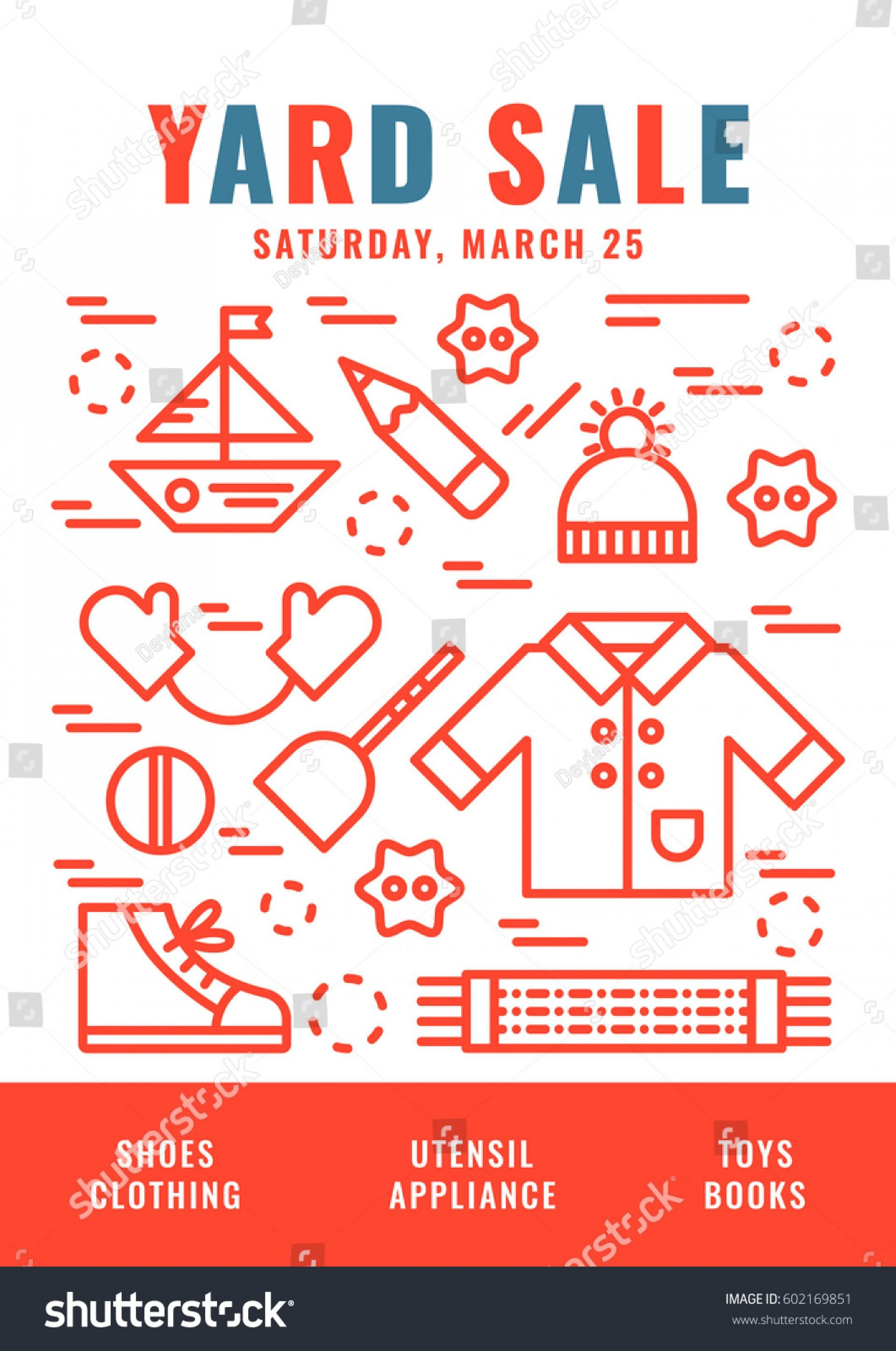 Garage Sale Sign Templates Free