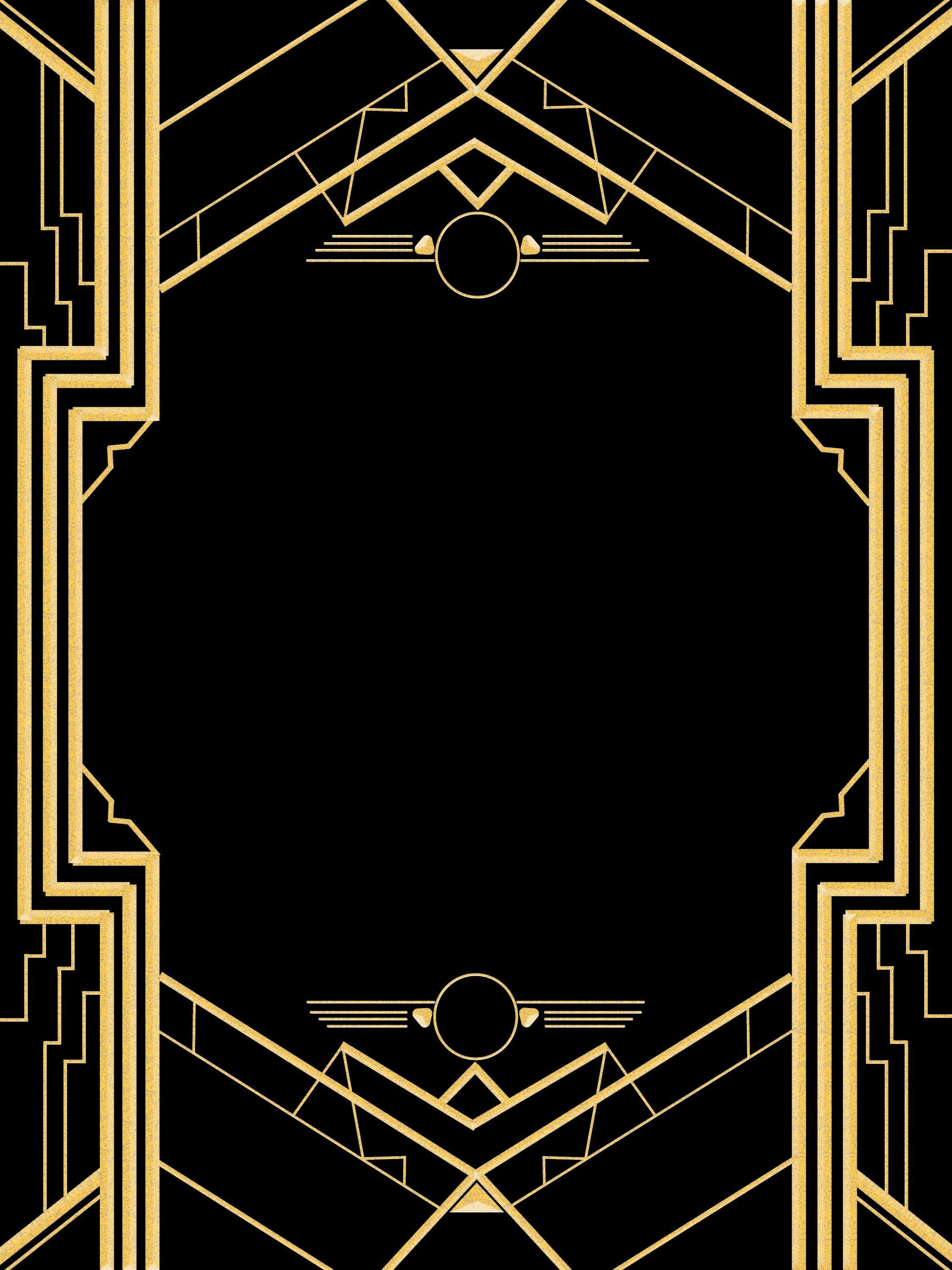 Gatsby Invite Template