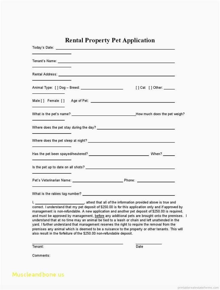Generic Lease Template