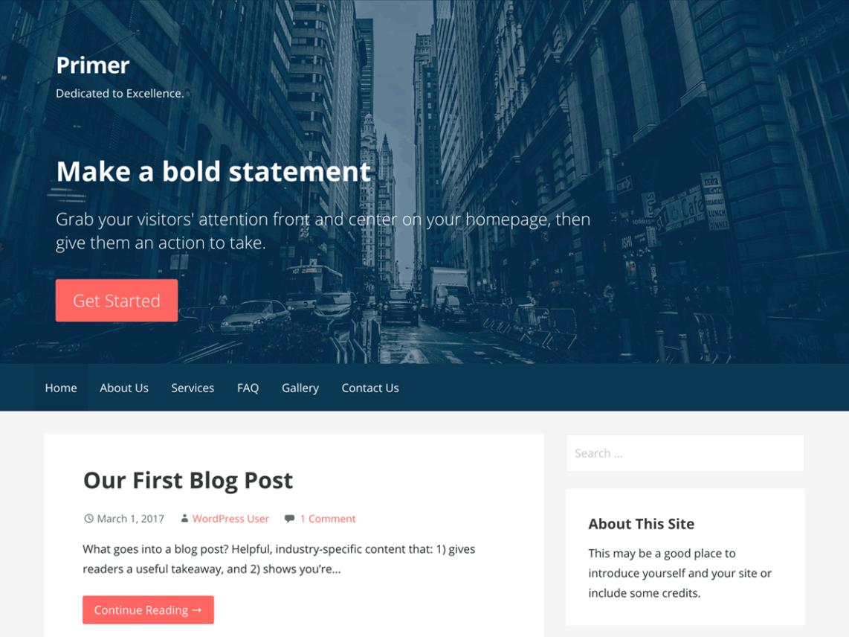 Godaddy Blog Themes