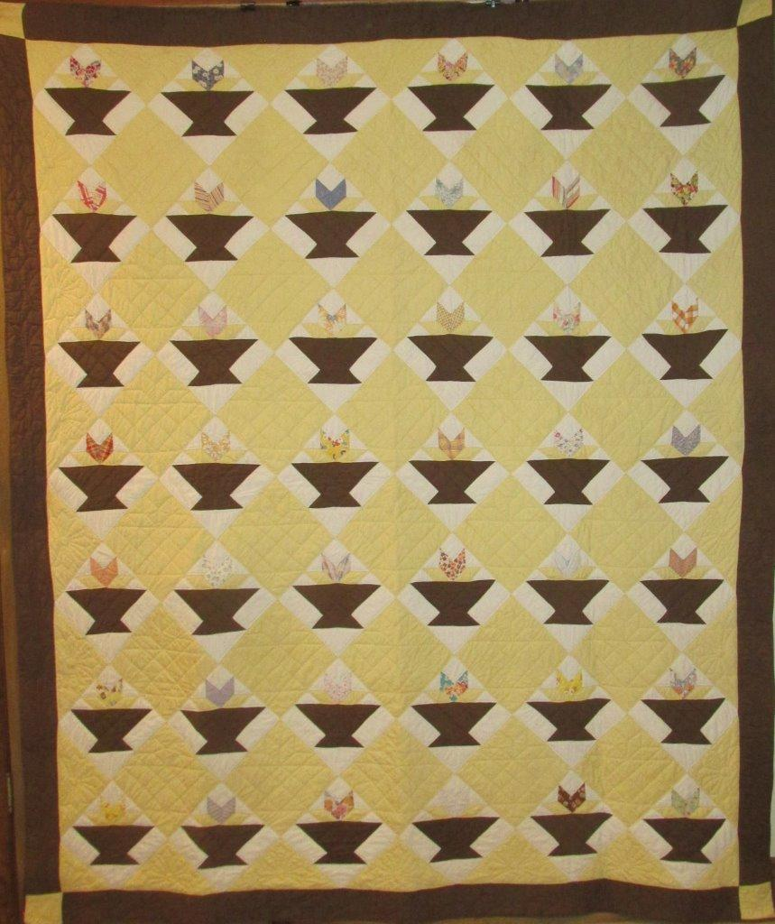 Golden Wedding Ring Quilt Template