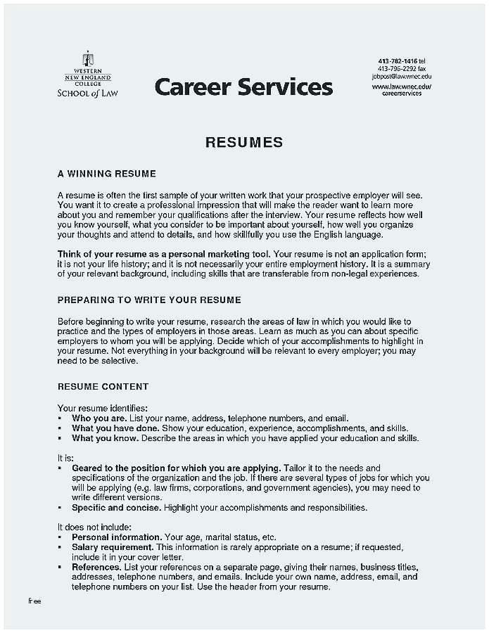 Good Resume For Bartender