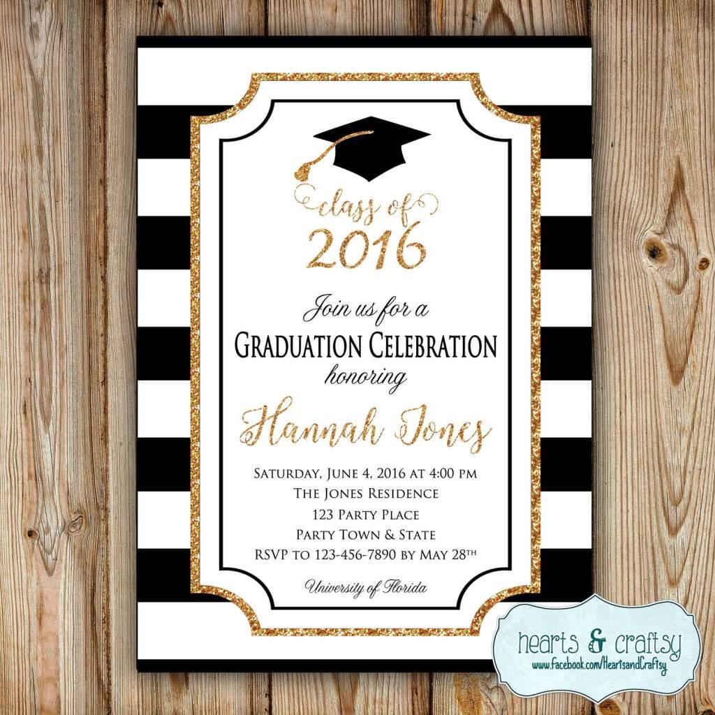 Graduation Announcement Free Templates