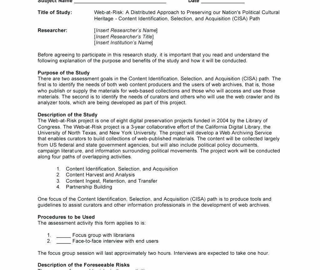 Group Counseling Consent Form Template