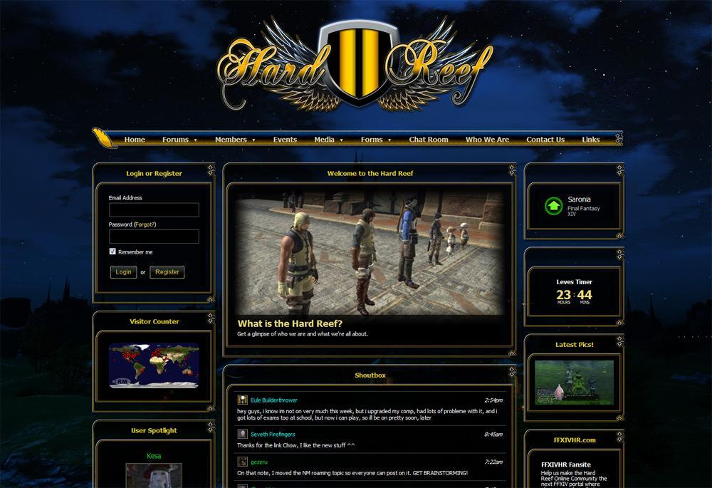 Guild Website Templates