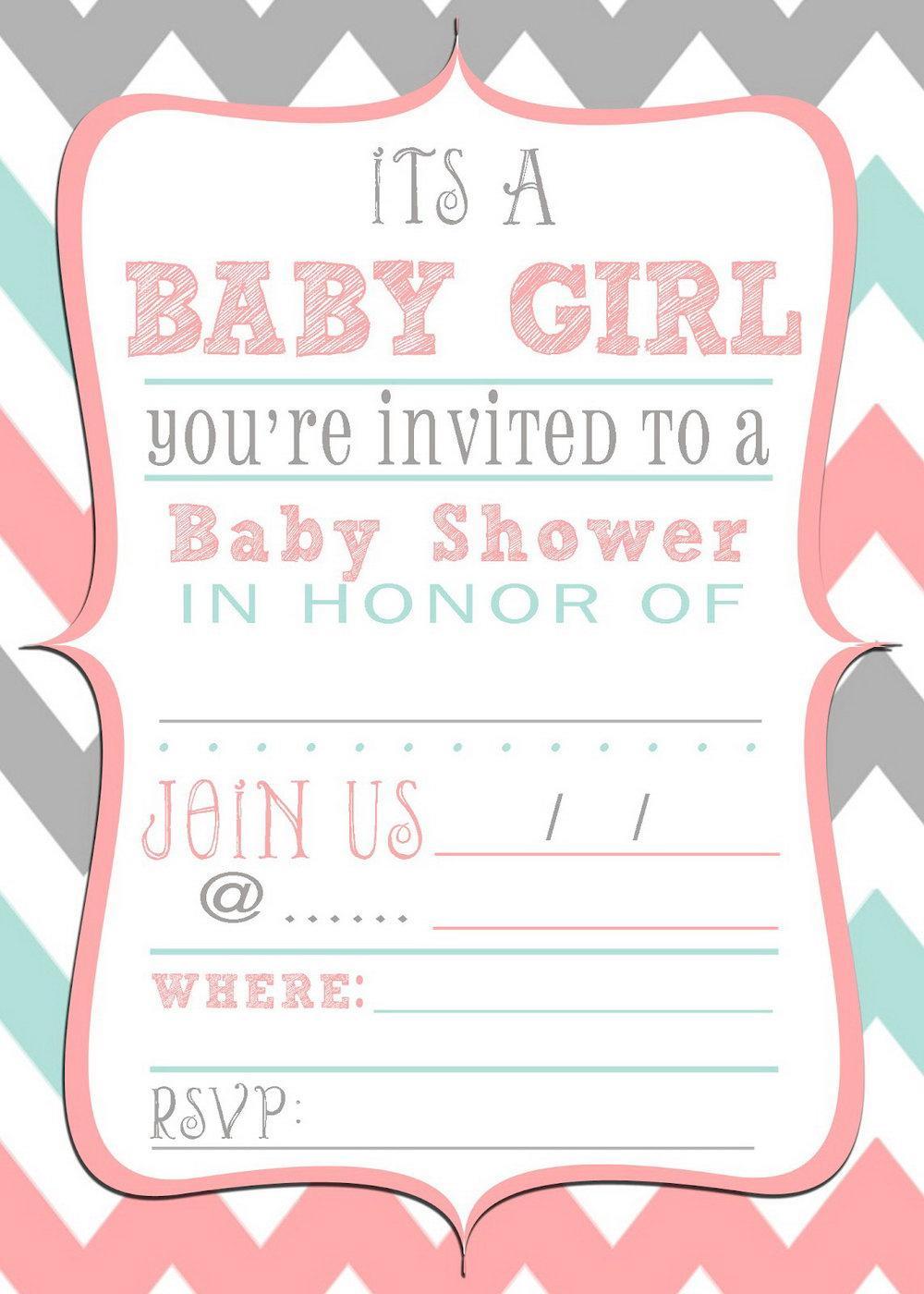 Halloween Baby Shower Invitation Template