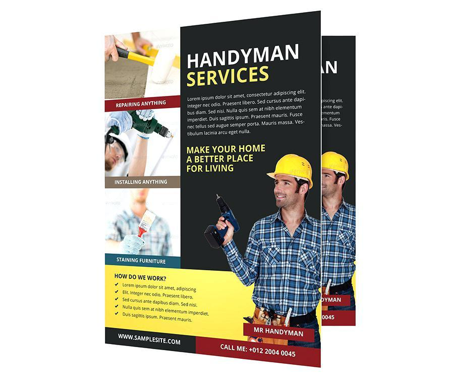 Handyman Website Templates Free Download
