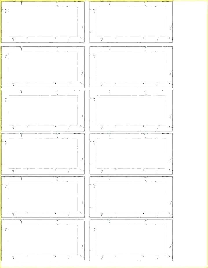 Hanging Folder Labels Template
