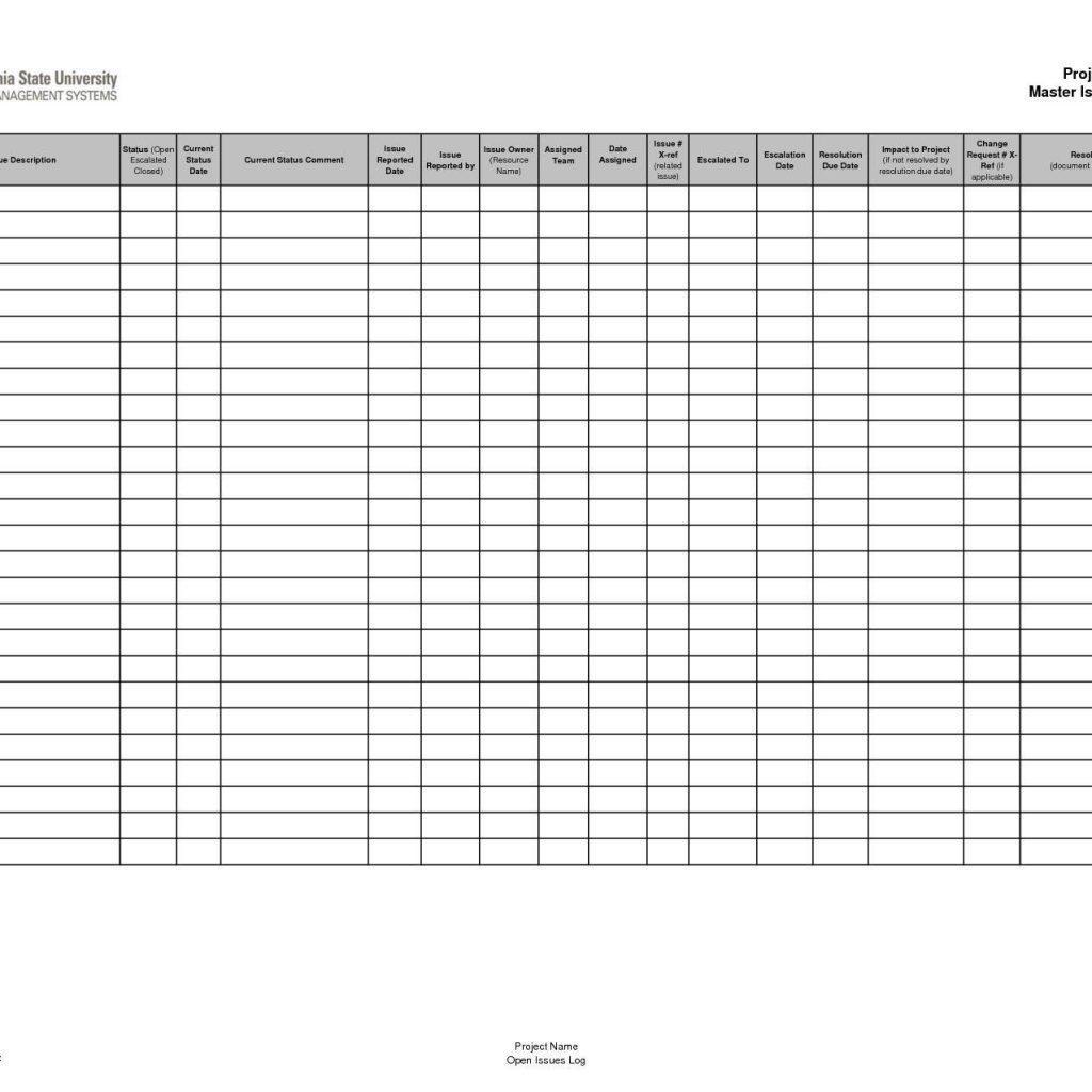 Hazardous Chemical Inventory Form Template