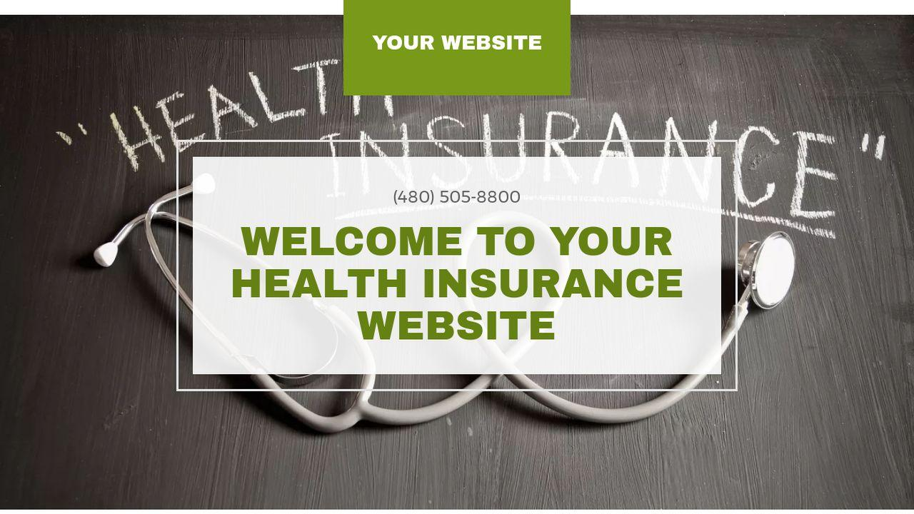 Health Insurance Website Templates