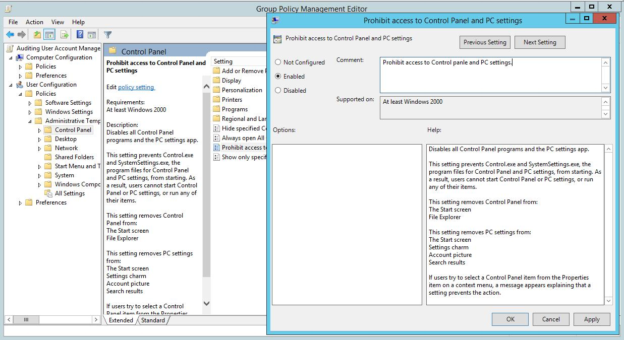 Hipaa Group Policy Template