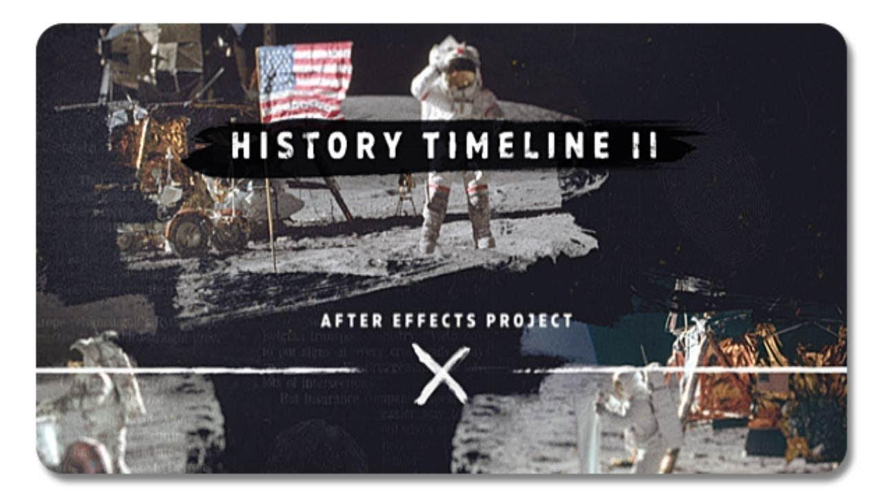 History Timeline After Effects Template
