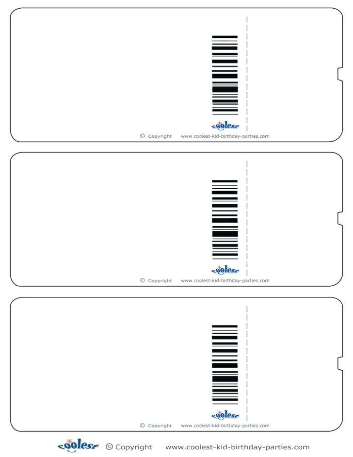Holiday Raffle Tickets Templates