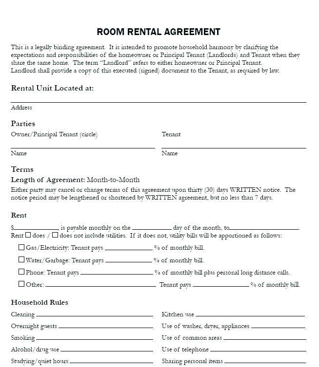 House Rental Agreement Template Philippines