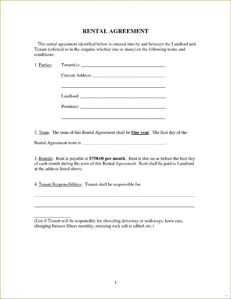 House Rental Agreement Template Uk