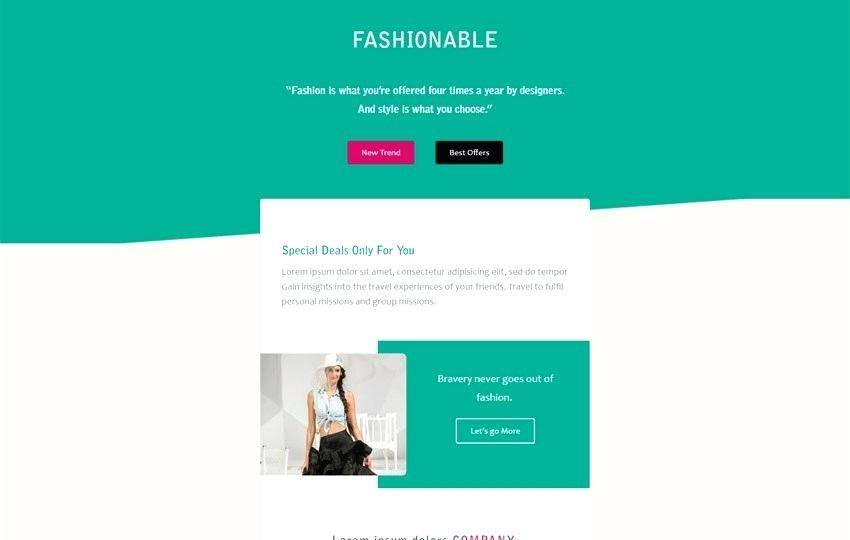 Html5 Responsive Newsletter Template