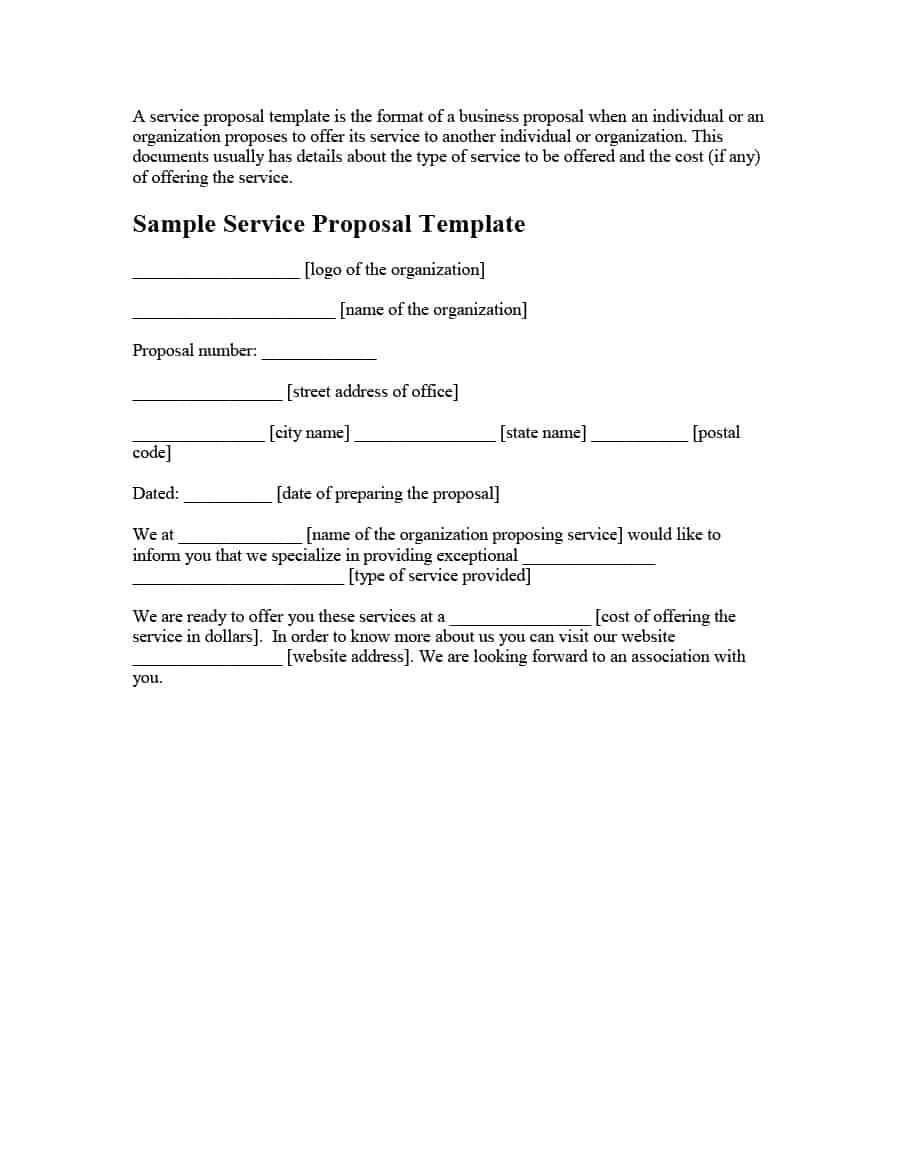 Hvac Proposal Template Word