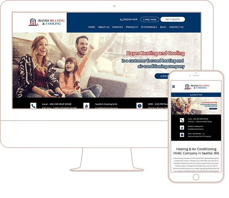 Hvac Website Templates