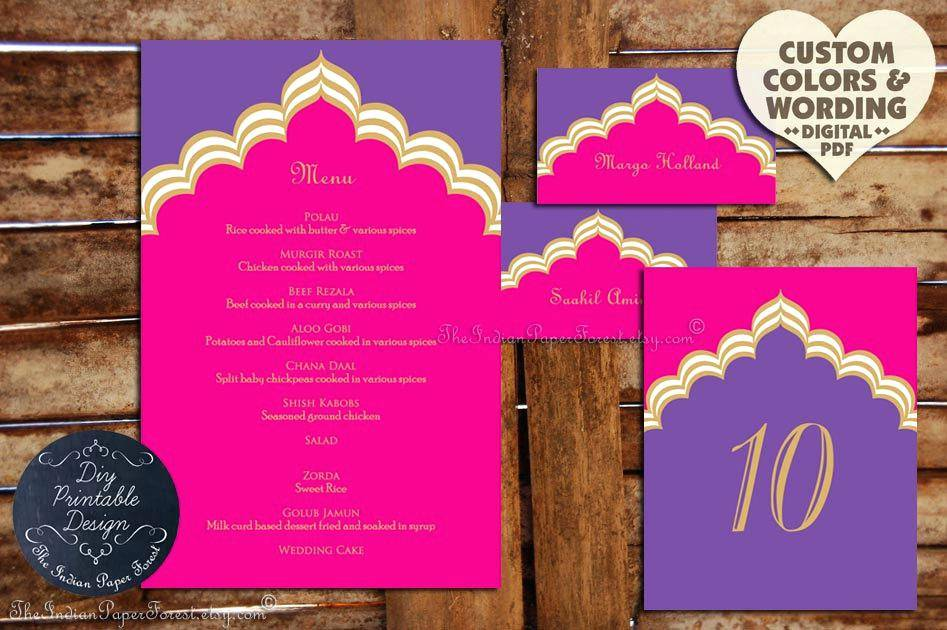 Indian Restaurant Menu Card Templates Free Download
