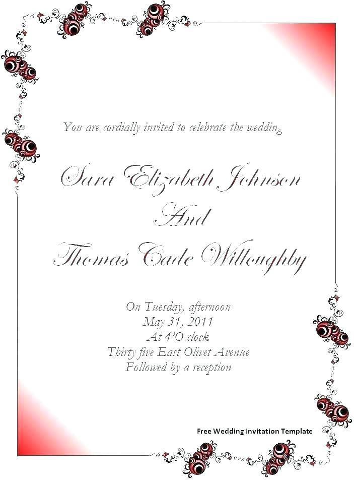 Indian Wedding Invitation Templates In Hindi