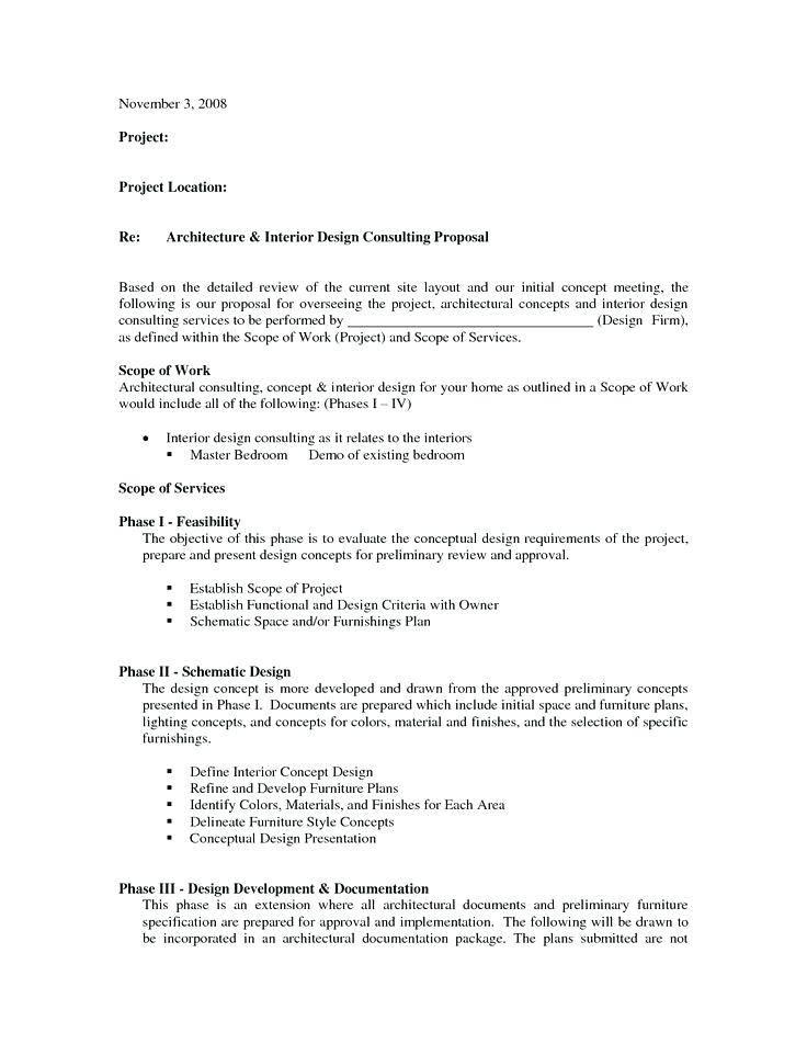 Interior Design Proposal Template Pdf
