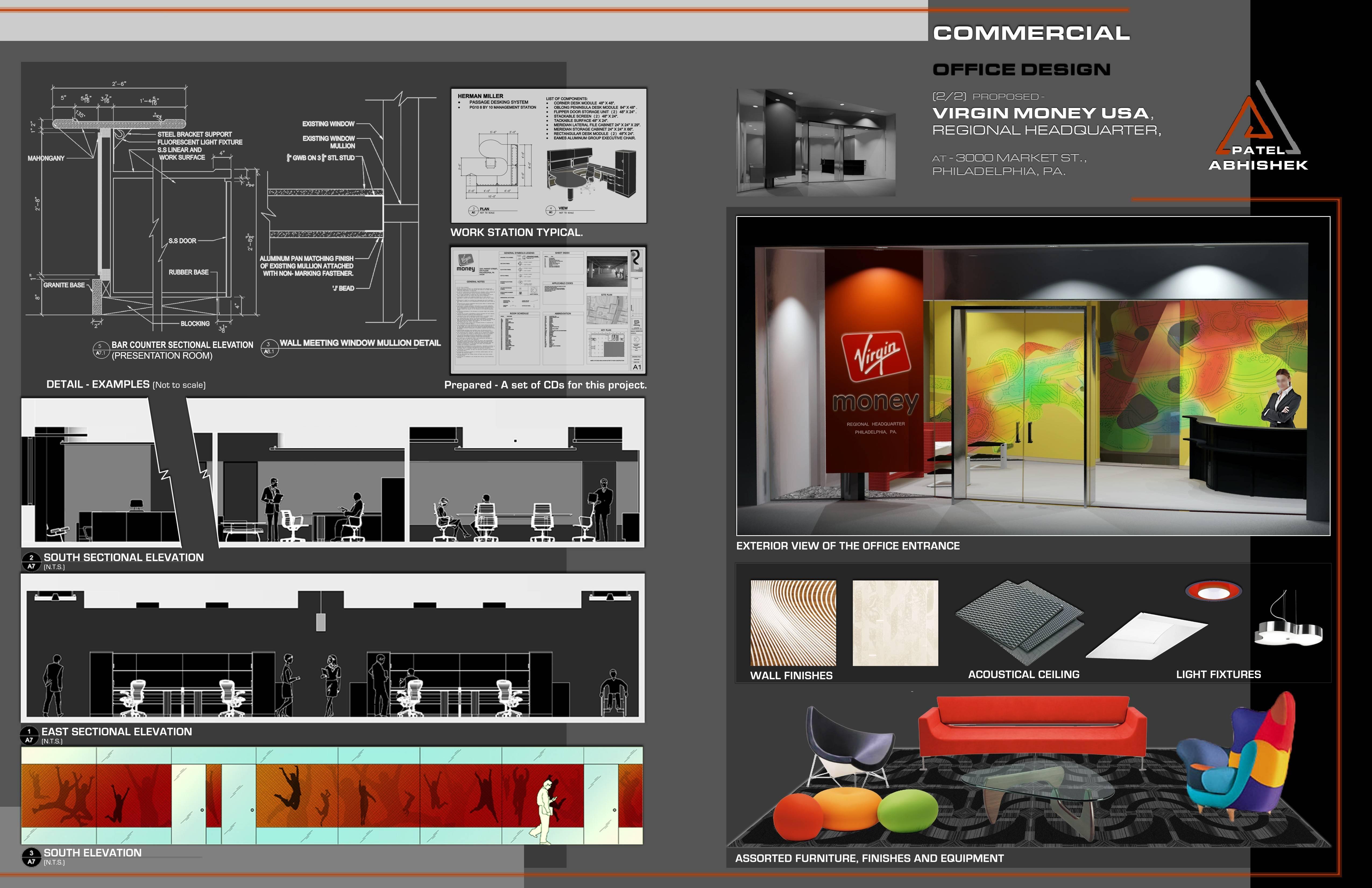 Interior Designer Portfolio Design Templates