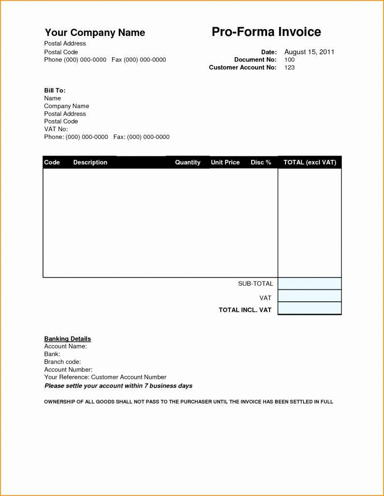 It Consulting Services Invoice Template