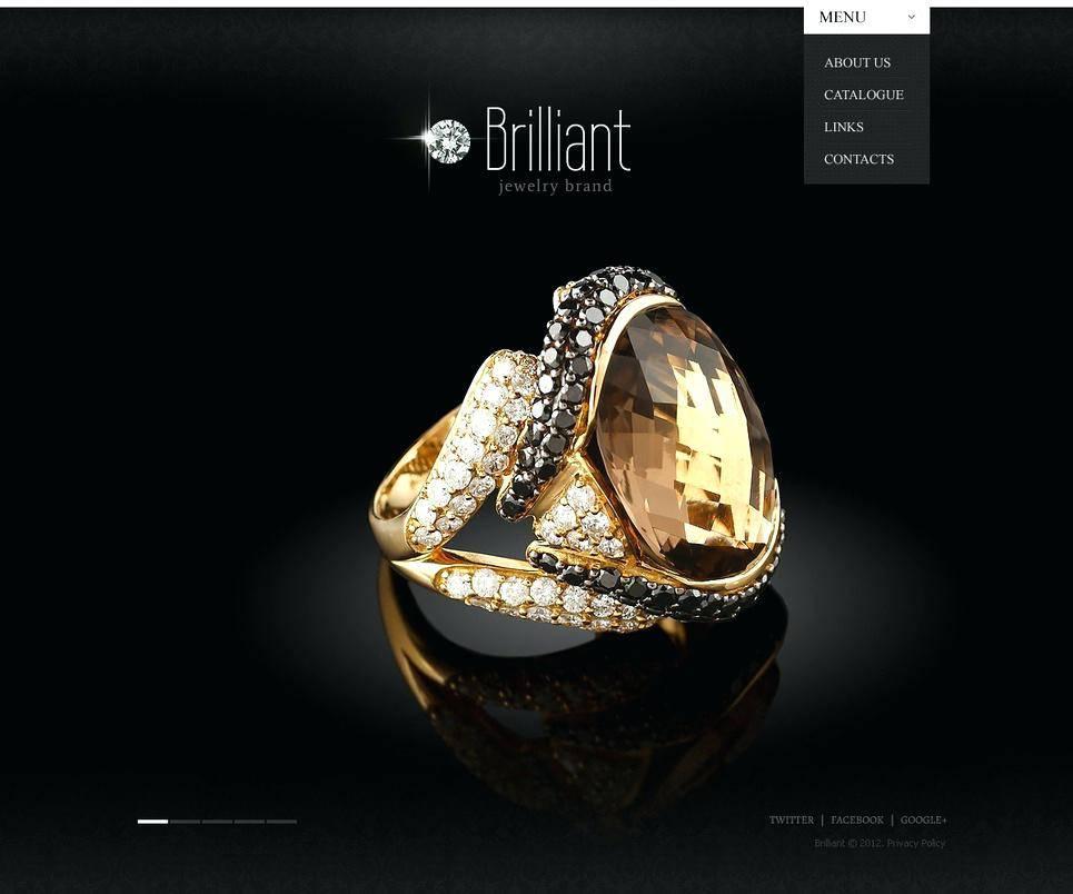 Jewellery Website Templates Free Download Responsive