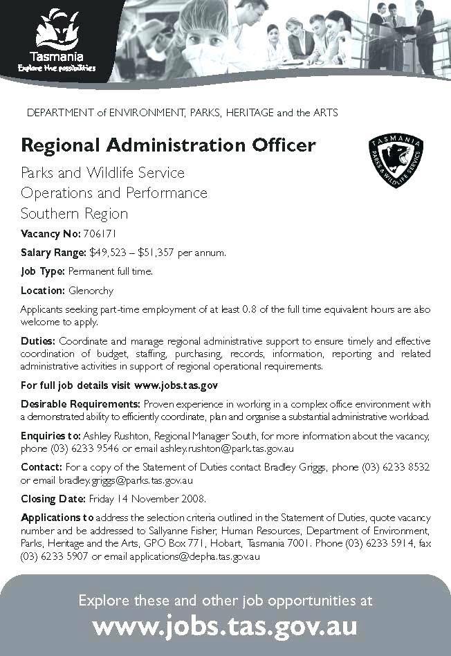 job advertisement template online