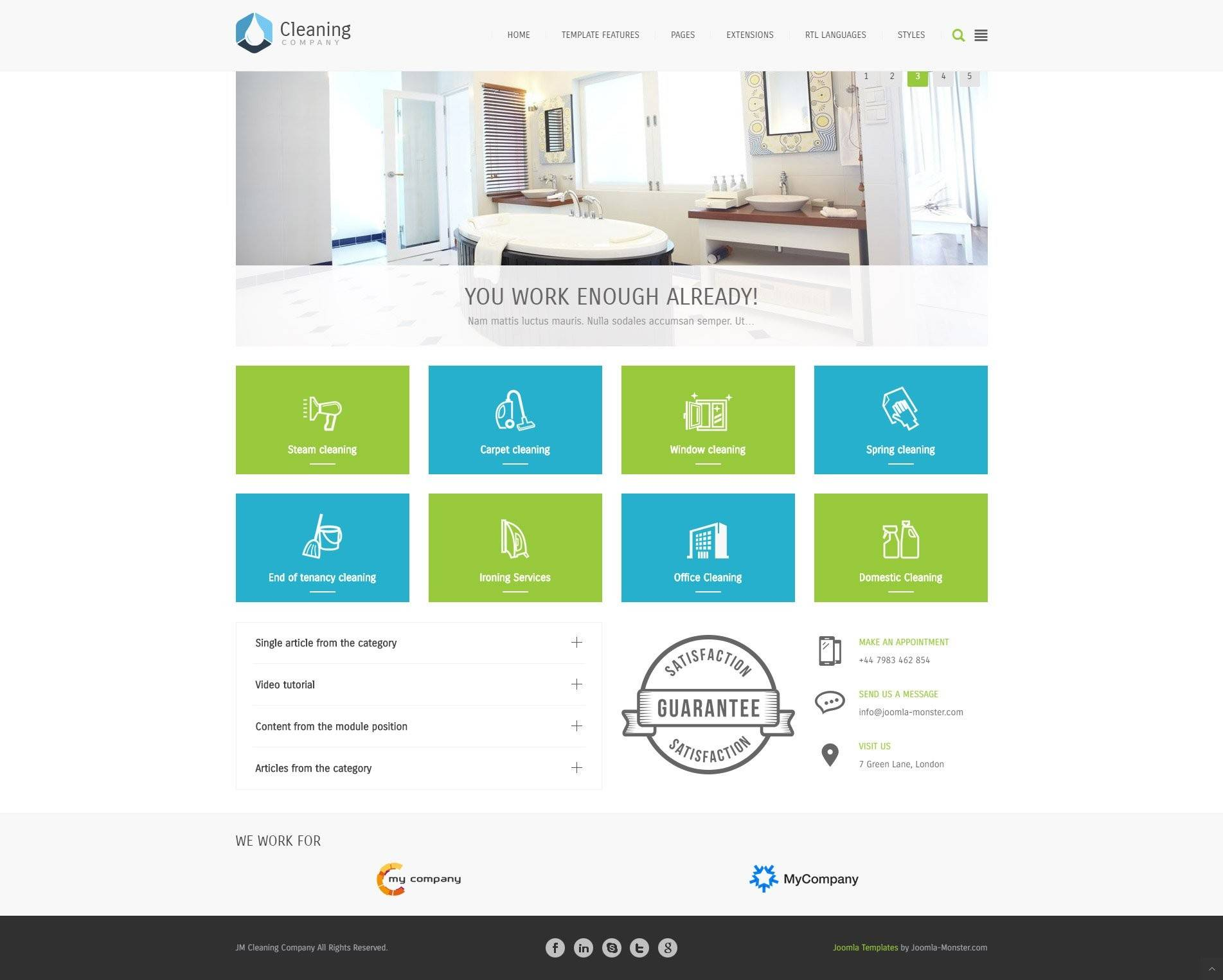 Joomla Professional Templates Free Download