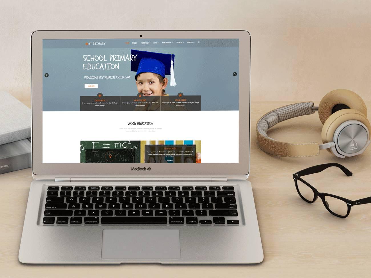 Joomla Responsive Templates School