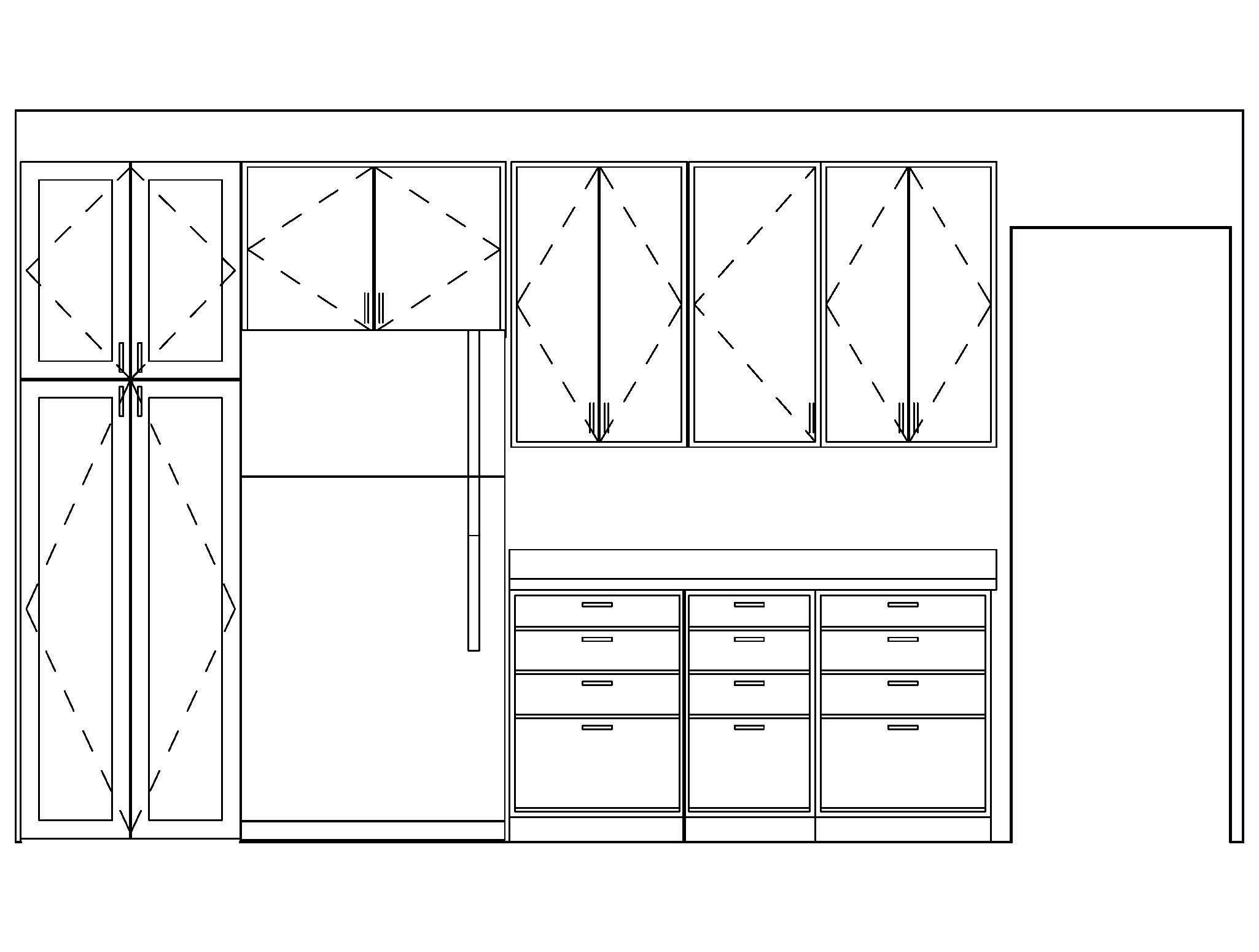 Kitchen Cabinet Templates For Visio