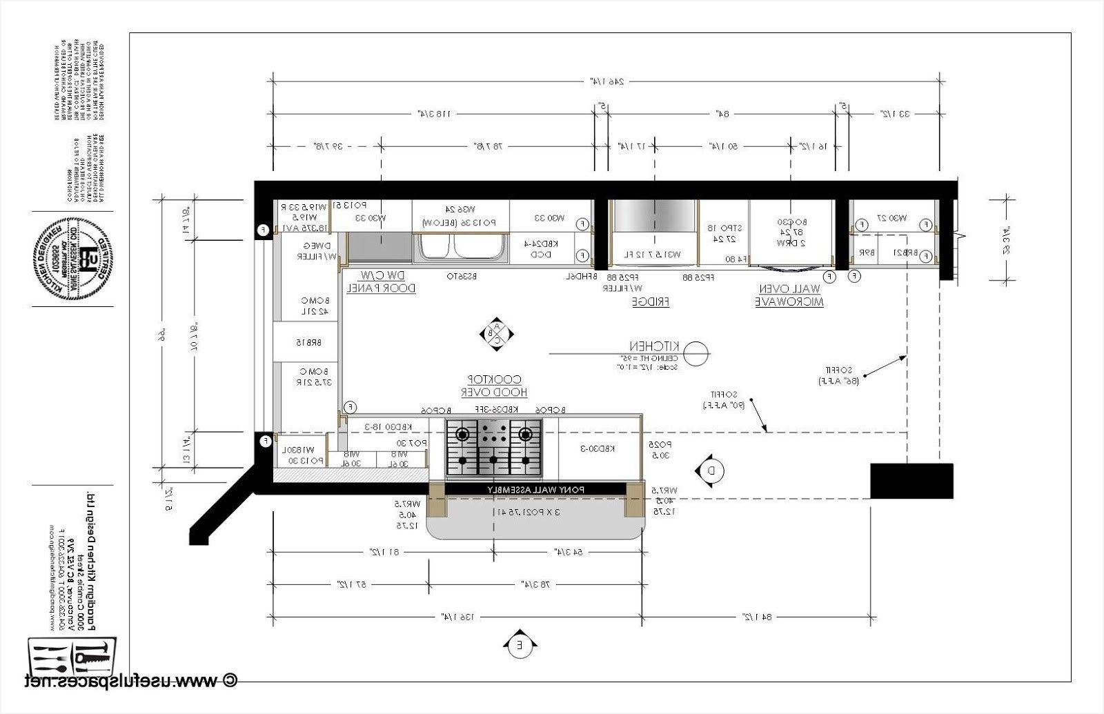 Kitchen Design Layout Templates