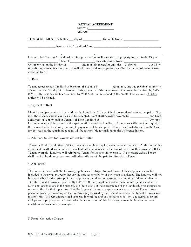 Landlord Tenant Agreement Template Ontario