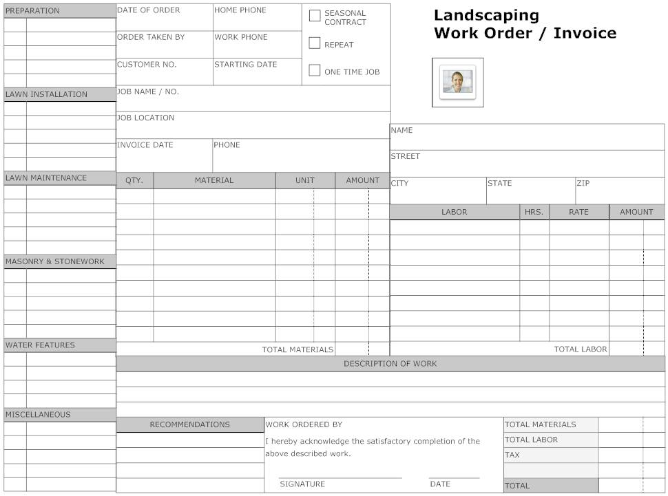 Landscaping Proposal Example