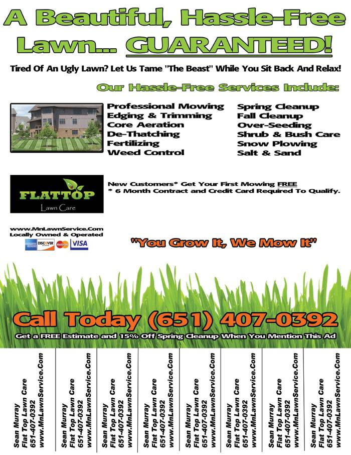 Lawn Care Flyer Templates Free