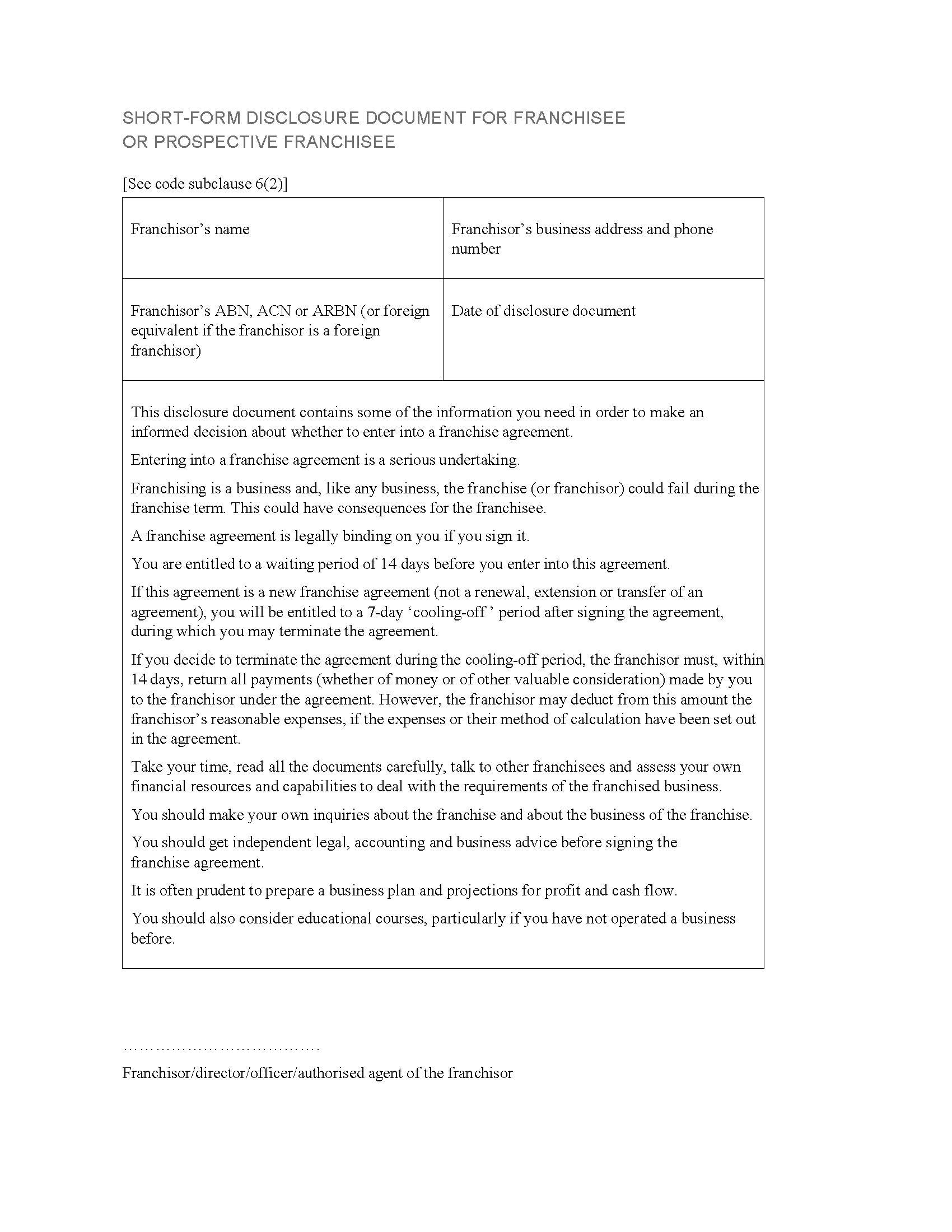 Legal Document Templates Australia