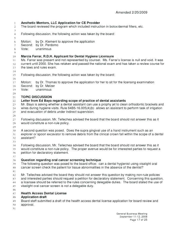 Llc Annual Meeting Minutes Template