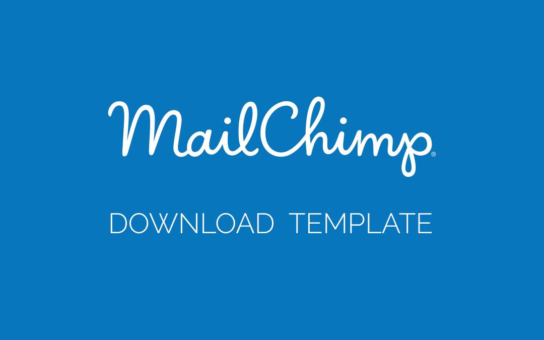 Mailchimp Email Template Download